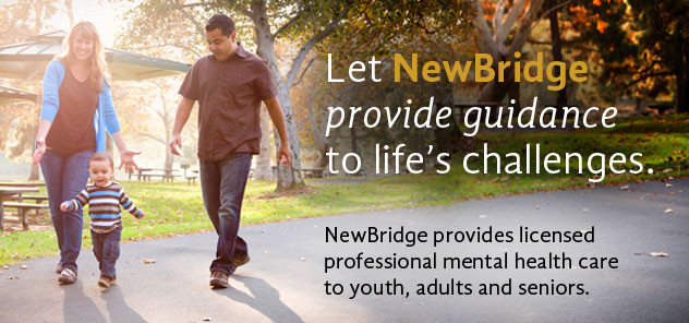 NewBridge provides licensed professional mental health care