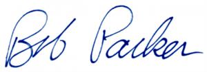 Bob Parker's signature