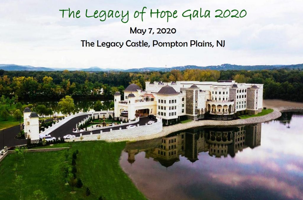 The Legacy Castle announcing 2020 gala and CEO Robert Parker being honored.