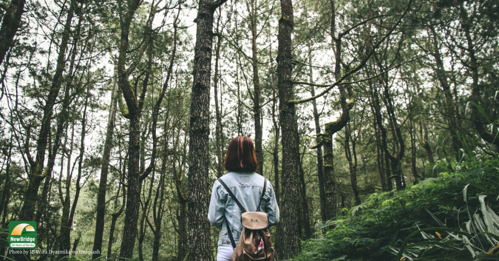 Meditative Walking can help lower anxiety over COVID-19 outbreak