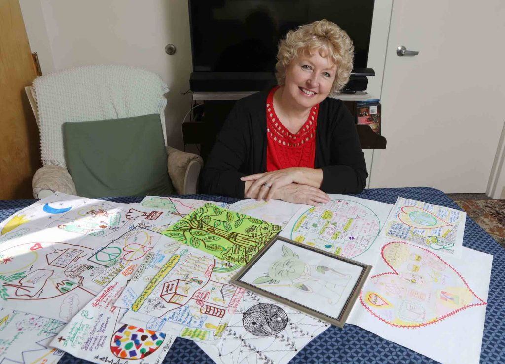 During Mental Health Month, meet Our Amazing Client Nancy Finch