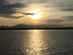 Take a stress break with this guided imagery meditation --sunset