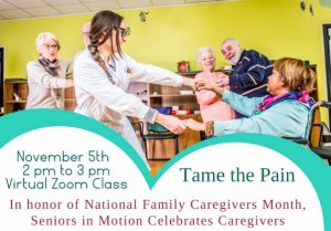 Family Caregivers Month event on Nov. 5