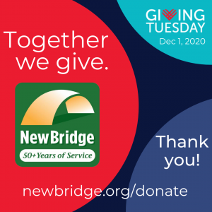 Radiate goodness by supporting NewBridge Services