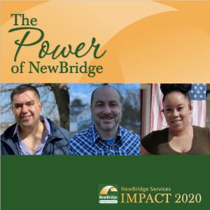 NewBridge 2020 annual report cover